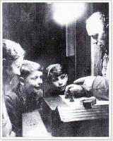 flohzirkus-vorstellung-attraktion-1953